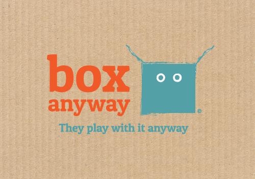 curious design box anyway logo